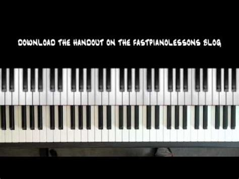 youtube tutorial blues piano easy blues piano lessons 12 bar blues in c 8th note