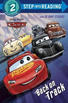 disney pixar cars the books of cars 2009 update take five a day cars 3 deluxe step into reading with stickers by walt disney company
