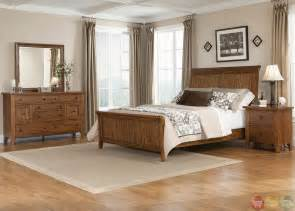 sleigh bedroom sets hearthstone traditional rustic oak sleigh bedroom set