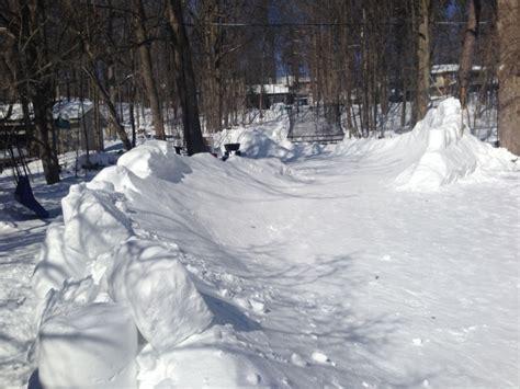 backyard luge barrie man makes giant backyard luge track ctv barrie news