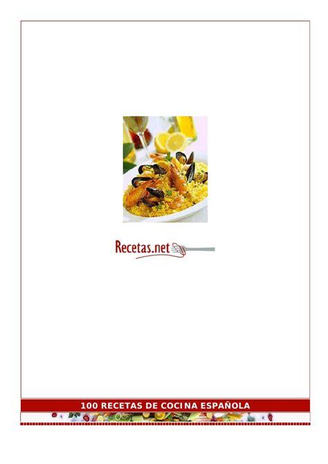 mas de 100 recetas 100 recetas de cocina espa 167 ola