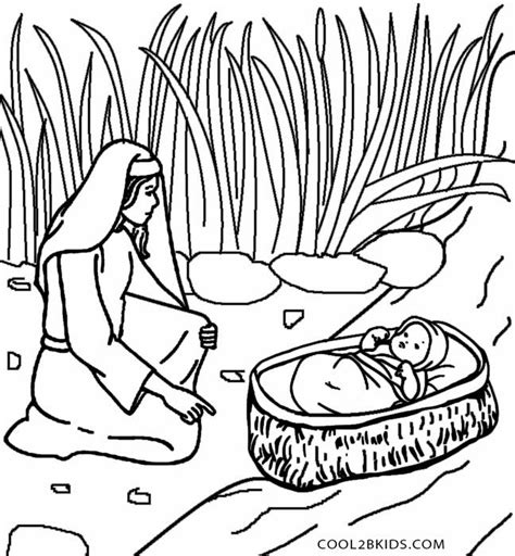 coloring page of baby moses 80 best fairy tale and mythology coloring pages images on