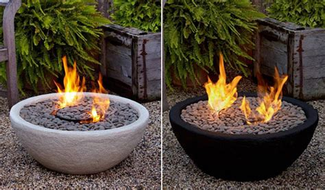 ventless pit outdoor ventless bowl contemporary other metro