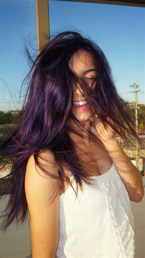 washing hair after color plum hair after two washings i had blue hair hair