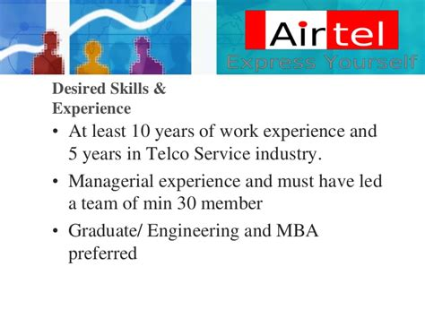 Airtel Mba Competition by Bharti Airtel Description