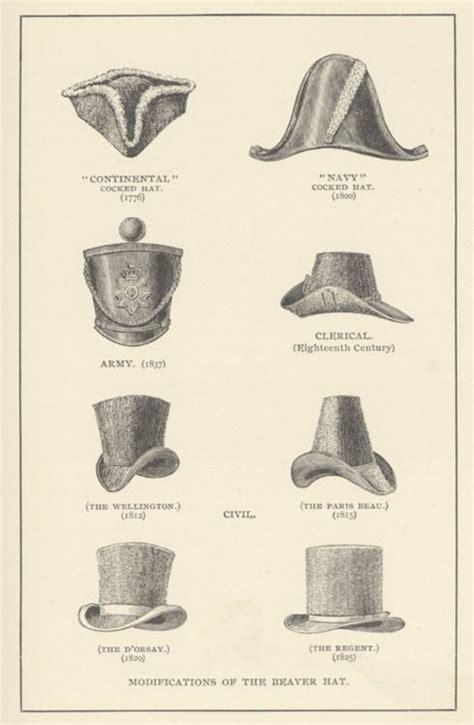 types of hats types of men s hats 18th 19th century jane austen