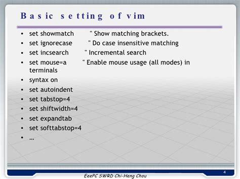 Vim Search Insensitive 20081118 How To Trace Code Like Source Insight Through Vim