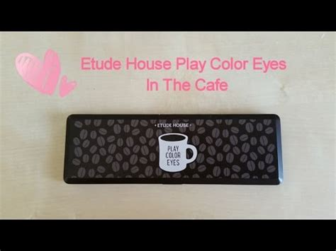Etude House Play Color In The Cafe Eye Shadow etude house play color in the cafe