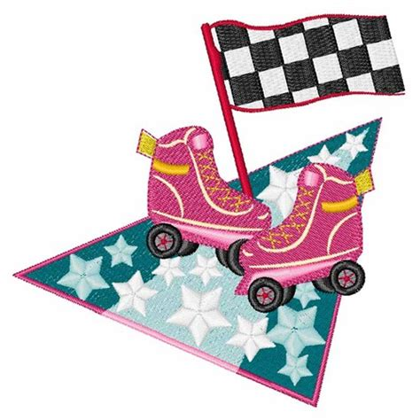 roller derby pattern roller derby skates embroidery designs machine embroidery