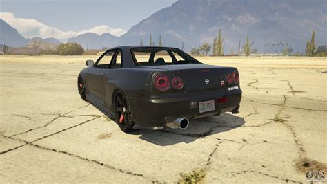 nissan gtr gta nissan skyline gtr r34 for gta 5