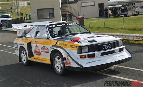 Audi Quattro S1 Group B by Video Audi Sport Quattro Group B Rally Car Experience