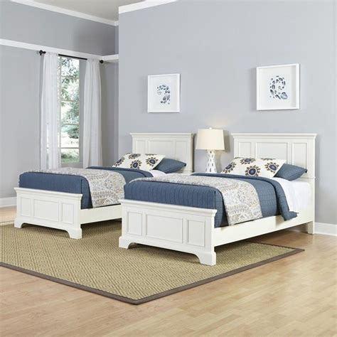 twin beds  piece bedroom set  white