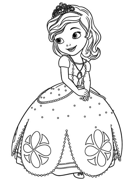 Free Coloring Pages Of Sofia The First Pets Princess Sofia Coloring Pics