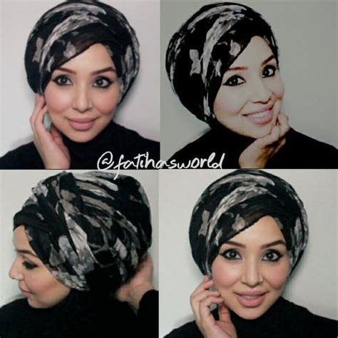 turban tutorial video my go to turban style tutorial by fatihasworld youtube