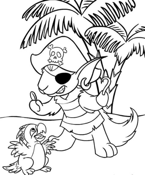 free printable neopets coloring pages for kids