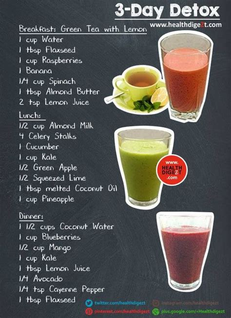 3 Day Detox Drink Diet by 3 Day Detox Detox And Apple Cider Vinegar Diet On