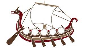 viking template blank viking ship