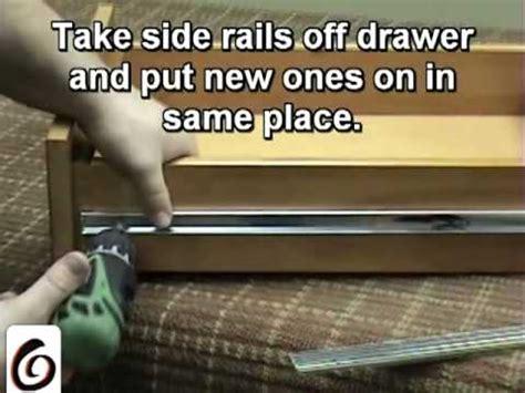 Retrofit Soft Drawer Slides by Soft Drawer Slides Retrofit How To Make A Soft