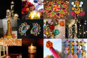 diwali decoration ideas with diyas rangoli candles and
