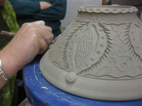decorating pottery bowl carving 10 surface decoration clay techniques
