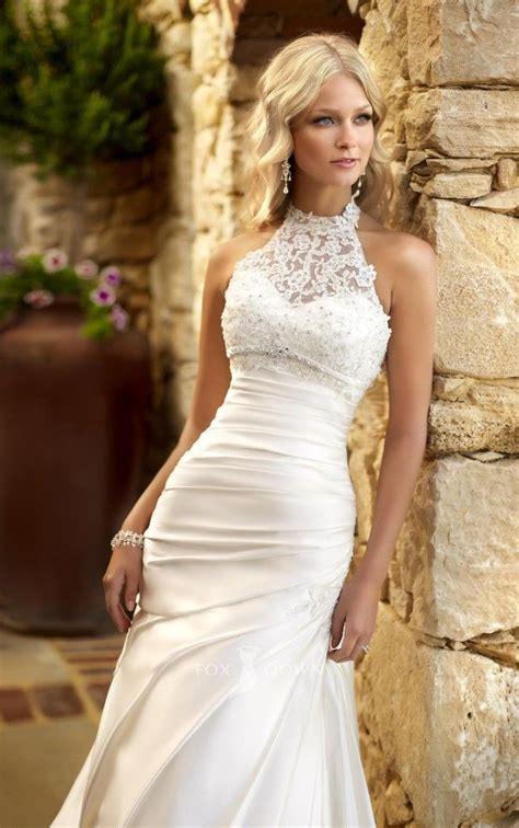 Wedding Dresses Halter Top by The 25 Best Halter Wedding Dresses Ideas On