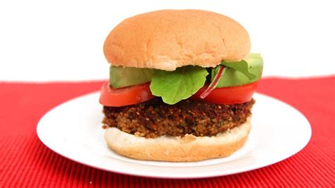homemade veggie burgers recipe laura vitale laura in the kitchen episode 619 youtube