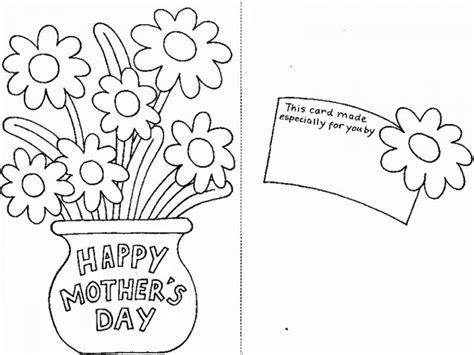 mothers day card templates to color free get this free printable mothers day coloring pages 03803