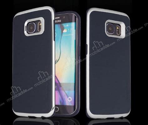 Motomo Esm Samsung S6 Edge motomo samsung galaxy s6 edge silver kenarlı siyah silikon kılıf