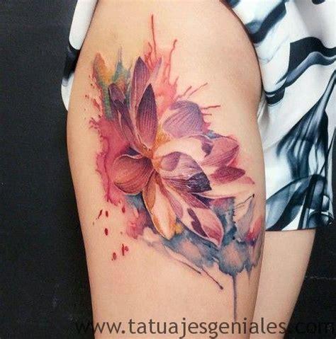 Lili Lengan significado y dise 241 os de tatuajes de flor de loto
