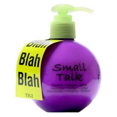 small talk bed head tigi bed head small talk 200 ml