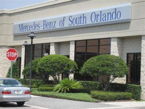 mercedes dealer orlando mercedes of south orlando car dealership in orlando