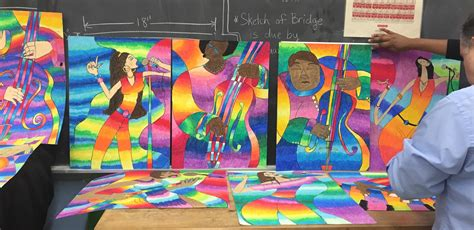 S Drawing Middle School by Westbury Arts Collaborates With Westbury Middle School To