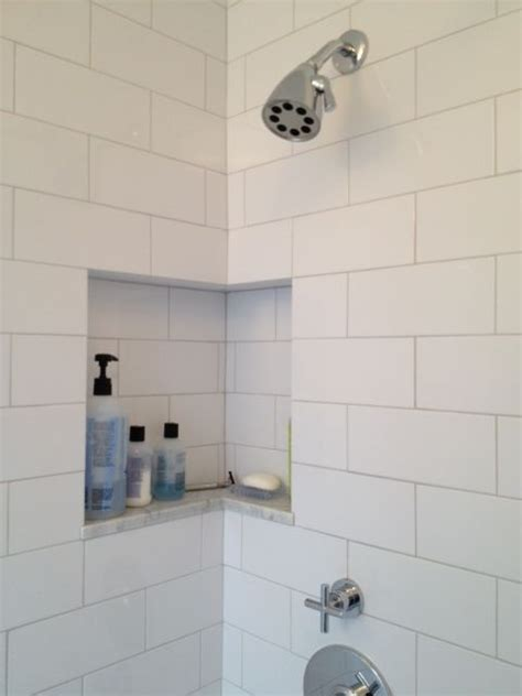 15 best images about bathroom tile and niche ideas on traditional bathroom shelves