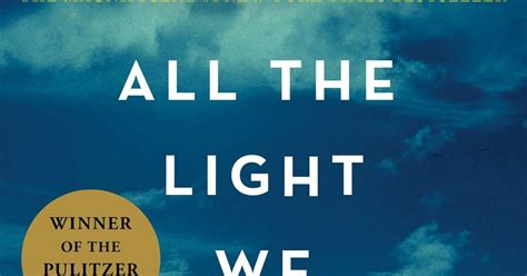 The Light We Cannot See by Readalikes All The Light We Cannot See By Anthony Doerr
