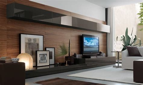 modern contemporary tv wall units modern wall units