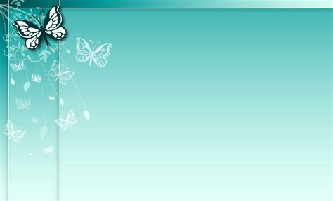 background design of ppt blue butterfly floral design backgrounds presnetation