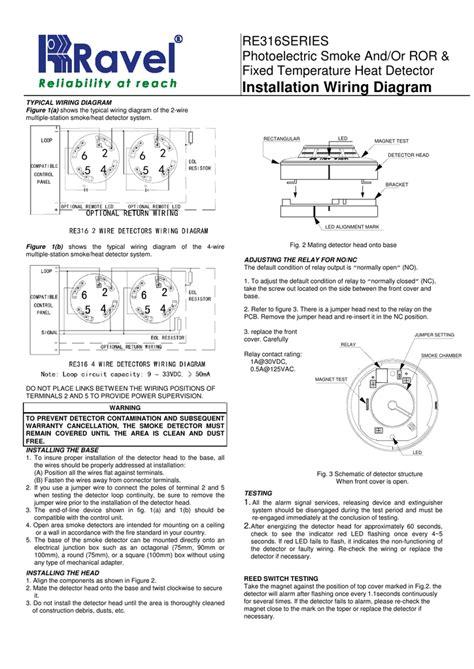 Wiring Diagram For Smoke Alarm - Wiring Diagram Schemas