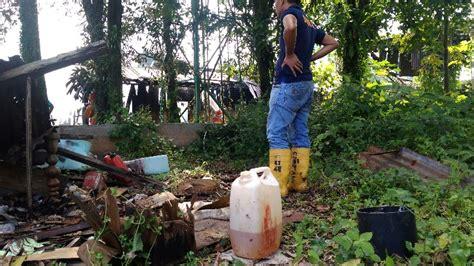 Hug Putih eks kantor gudang sawmill jalan medan terbakar ditemukan jerigen berisi bensin