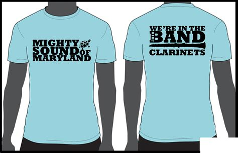 clarinet section shirts t shirt designs by laura pavlo at coroflot com
