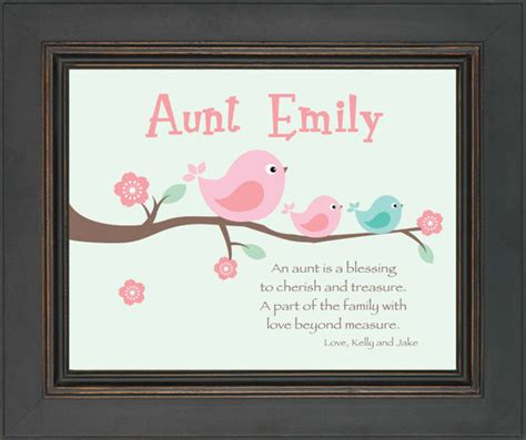 aunt personalized gift custom gift for a by
