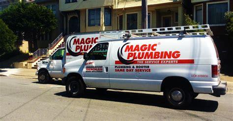 san bruno plumber magic plumbing water heating services