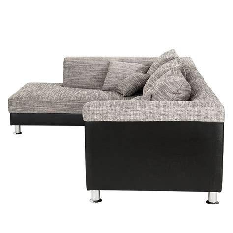 bezug für ecksofa mit ottomane ecksofa stoff schwarz grau ottomane links eckcouch sofa