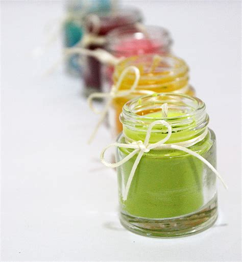 Handmade Scented Candles - how to make scented candles at home the craftables