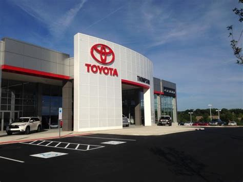 Toyota Dealerships In Pa Thompson Toyota Doylestown Pa 18901 Car Dealership And