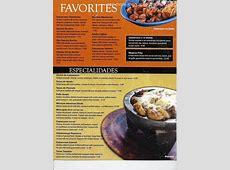 Online Menu of Yucatan Mexican Restaurant Restaurant ... Arby S