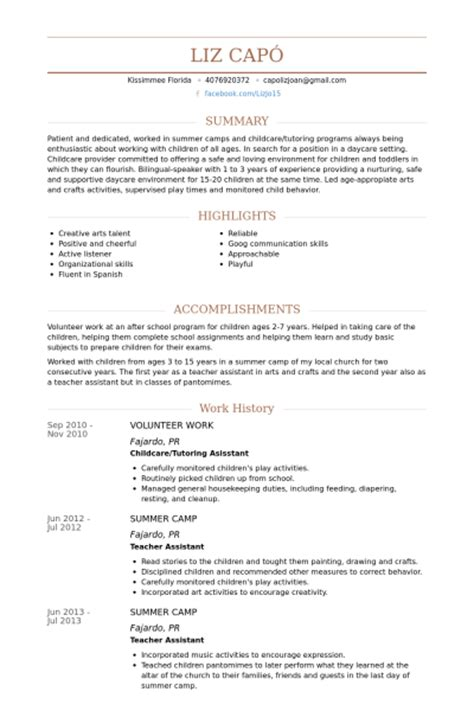 Sle Resume Volunteer Hospital Resume Volunteer Work Resume Volunteer Experience Sle Administrative Assistant Resume Sle