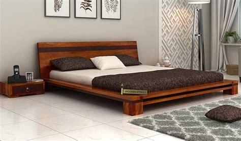 low floor beds melisandre low floor double bed queen size honey finish