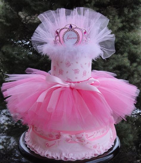 Tutu Baby Shower Decorations by Princess Themed Cake With Tutu Www