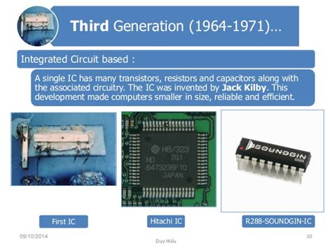 which generation of computer made use of integrated circuit computer generation