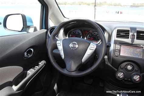 nissan versa interior 2013 first drive 2014 nissan versa note hatchback video